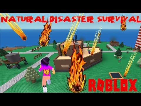 Tsunami Roblox Natural Disasters Intense Meteior Showers In Roblox Natural Disaster Let S Survive In 2020 Natural Disasters Roblox Disasters