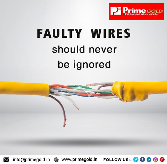 Faulty Wiring Is The Primary Cause Of Incidents Primegold In 2020 Best Insulation Reduce Energy Save Energy