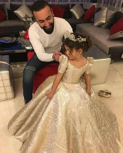 Vestido Dorado Niña Vestidos Para Niñas Vestidos De