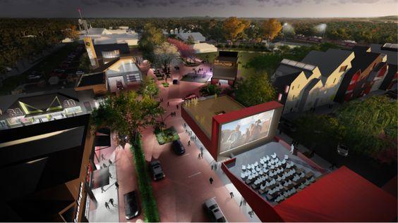 Mayflower Town Center - Master Plan 2020 - A look at context-sensitive streets in rural Arkansas