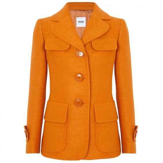 Harvey Nichols orange coat