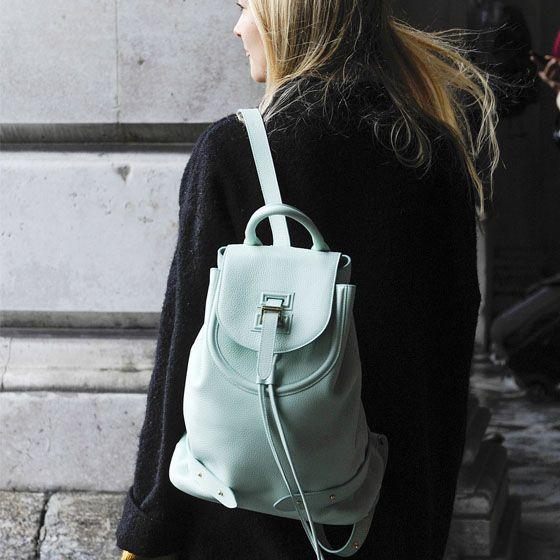 Mochila Mint Green #mintgreen #mochila #backpack