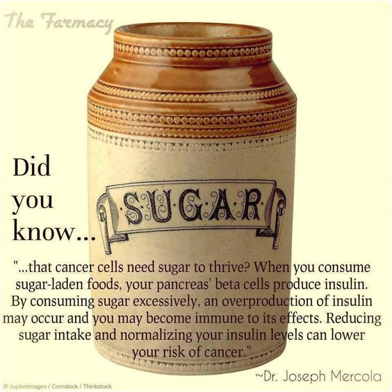 About that sugar...