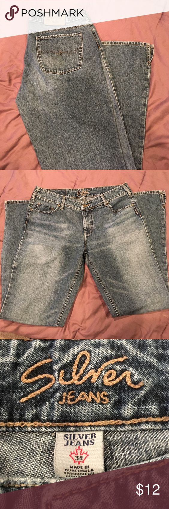 Silver Jeans- size 34/32