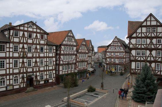 Trend Marktplatz Plaza del mercado Homberg Efze Hessen Travel Guten Tag Pinterest Fachwerk und Deutschland
