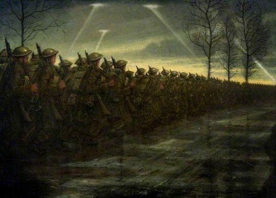 Nevinson, March Of Civilization