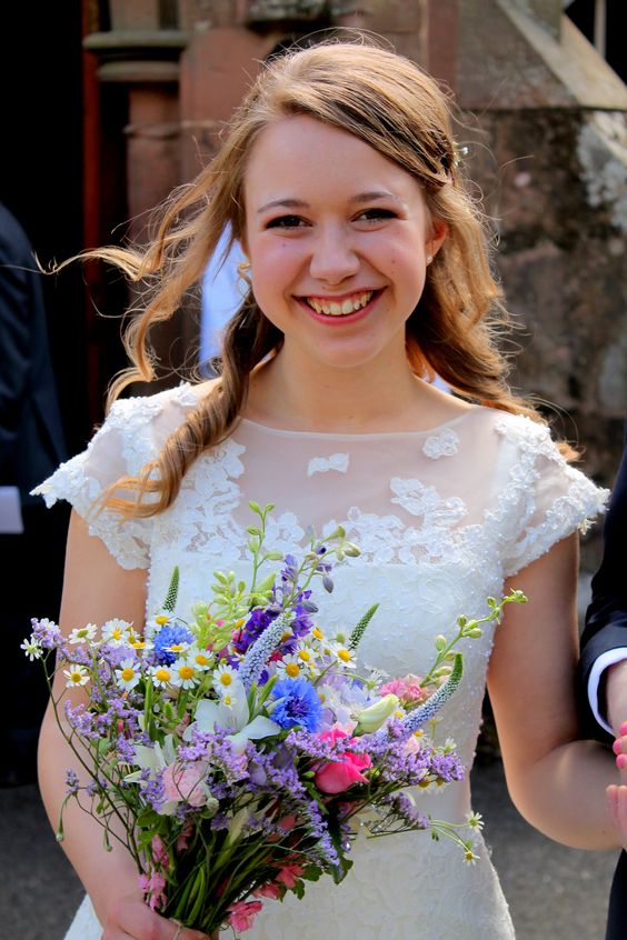 I think the smile says it all!  Photograph courtesy of Liz Ewbank http://raddingsphotography.wordpress.com/