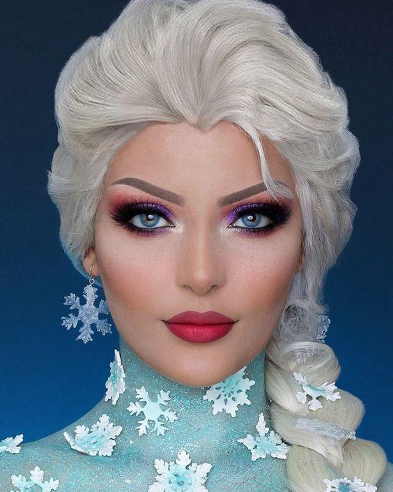 3 Festive Christmas Makeup Ideas for Party en 2020   Maquillaje de
