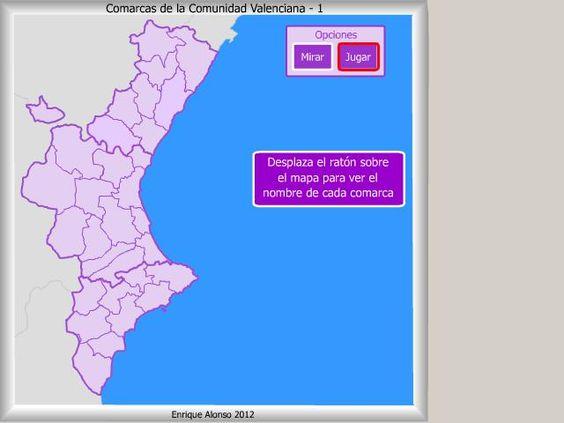 Comarcas De La Comunidad Valenciana Dónde Está La Comunidad Valenciana Comunidad La Comunidad