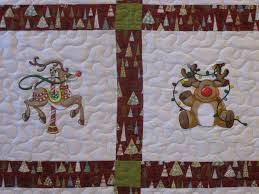 machine embroidered quilt block, lovely christmas quilt - found on google search
