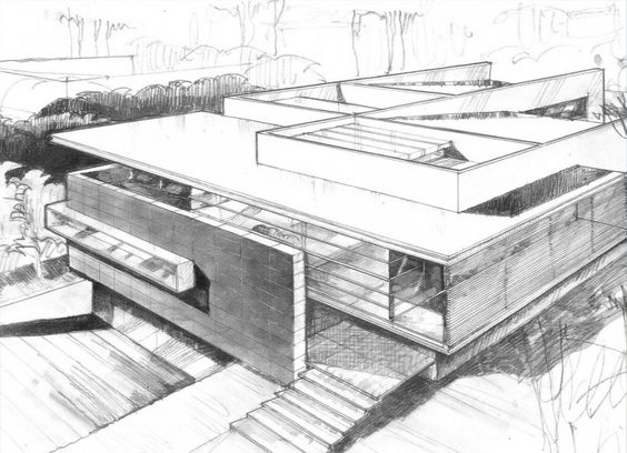 Modern Home Architecture Sketches modern home architecture sketches design decorating 619680