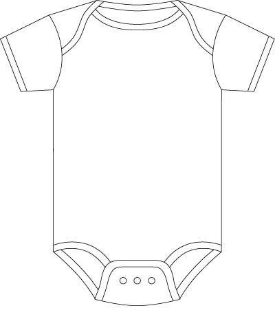 Onesie - figure out how to make the detail lines sketch and then cut the outside.