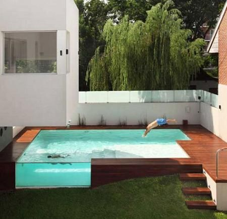 Dise o de jardines peque os para entradas de casas for Diseno de jardines modernos con piscina
