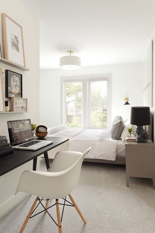 20 Best Long Narrow Bedroom Design Ideas 87designs Bedroom Design Home Office Bedroom Narrow Bedroom