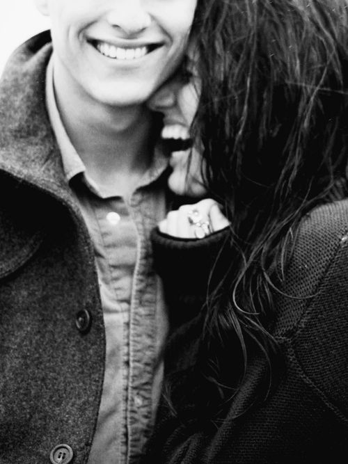 Have you ever noticed that when you are in love, you always go around with a smile on your face?