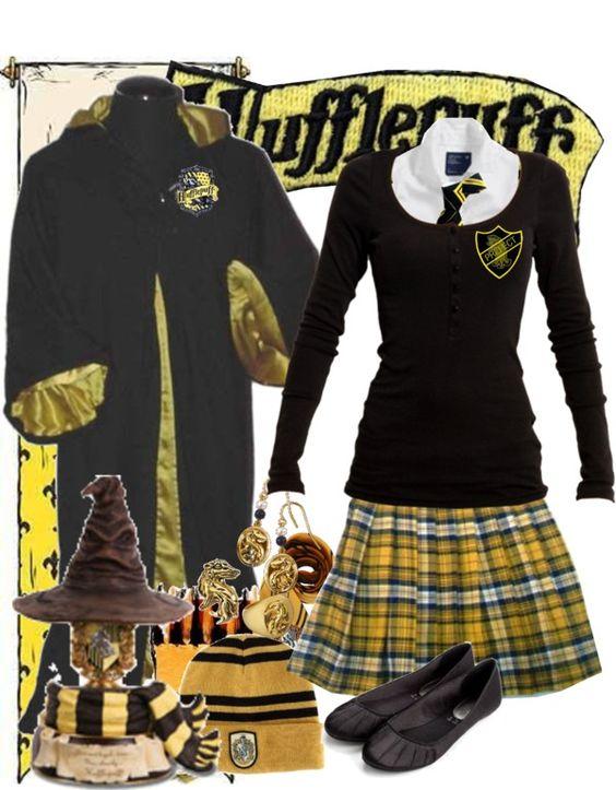 Hufflepuff Uniform Costume hufflepuff uniform at hogwarts hogwarts ...