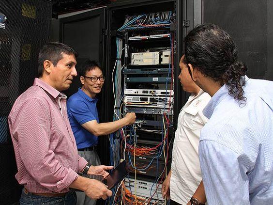 Con tecnología coreana, Cali fortalece su red de datos
