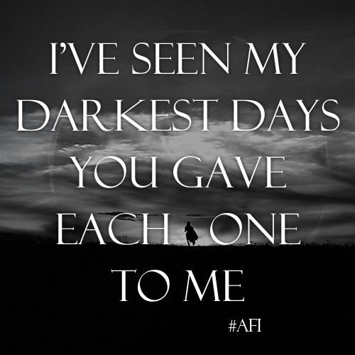 Afi I Hope You Suffer Sing To Me Music Love Words