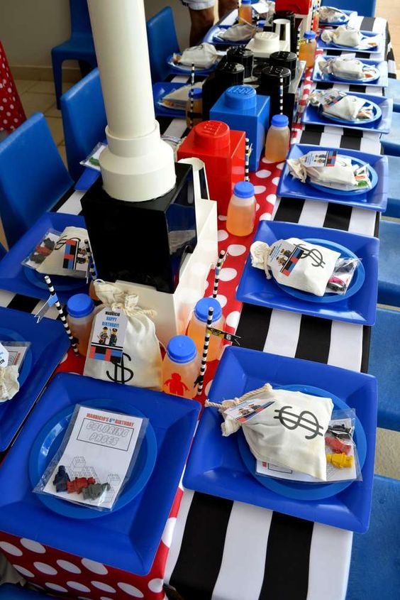 LEGO City / Police Birthday Party Ideas | Photo 10 of 35 | Catch My Party