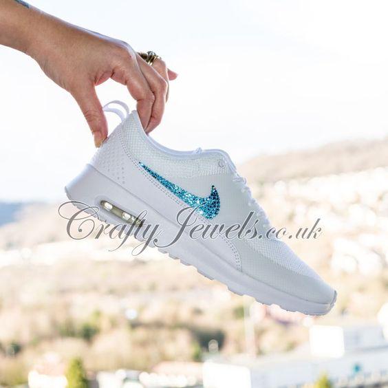 Nike Air Max Thea White Swarovski