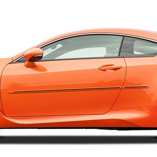 Lexus Rc Painted Moldings With A Color Insert 2015 2020 Ci Rc15 Lexus Body Molding Paint Matching