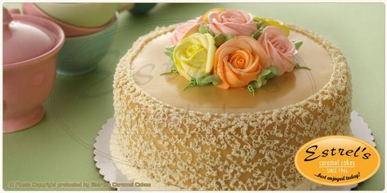 Top 12 Cakes To Try In The Philippines  (estrels caramel cake)