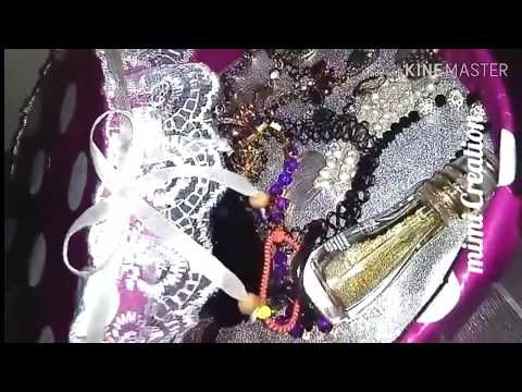 اعادة تدوير كيفية عمل منظم راائع من علبة قديمة Youtube Jewelry Crown Jewelry Crown