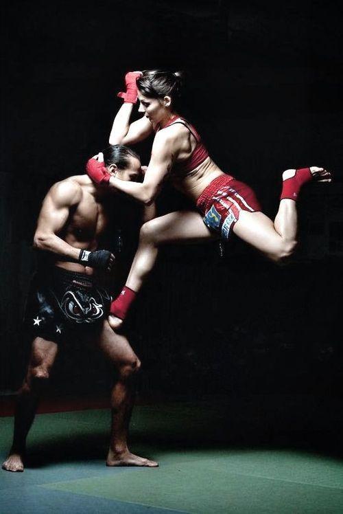 'Muay Thai Lady' #muaythai #martialarts