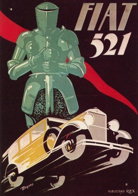 Fiat 521 Poster