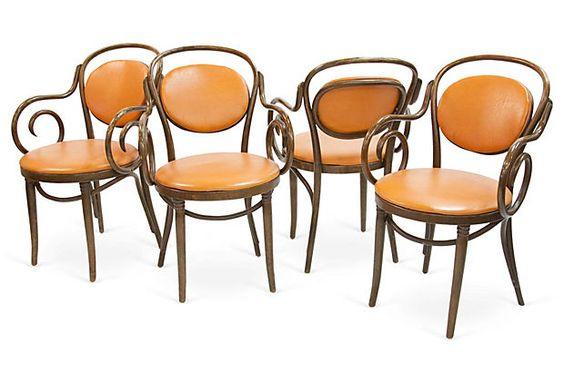 Thonet-Style Chairs, Set of 4 on OneKingsLane.com