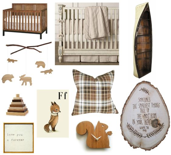 Nursery Planning - Woodland Theme