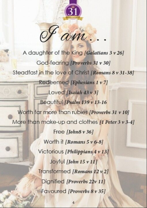 What Does The Bible Say About Me?