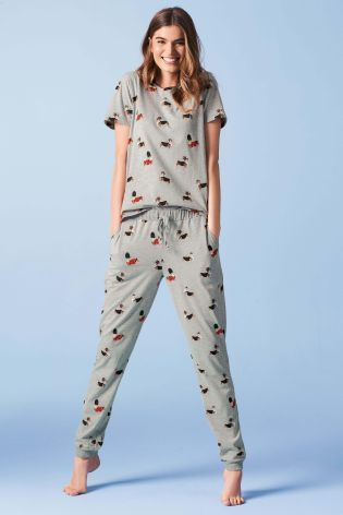 772548464a Buy Grey Royal Corgi Pyjamas from the Next UK online shop