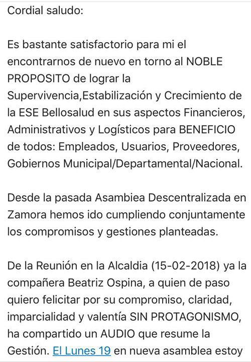 Informe del Auditor y Líder de Equipo de Cuentas Médicas de ...