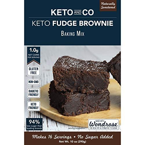 Keto And Co Fudge Brownie Mix All Natural Naturally Sweetened