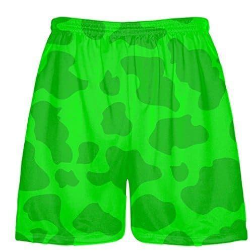 Youth Neon Green Lacrosse Short Green