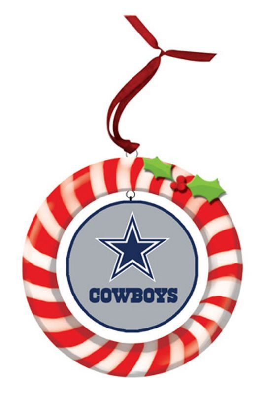 Dallas Cowboys Clay Dough Wreath Ornament