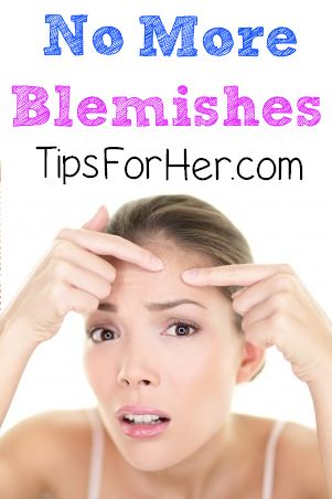 how to quickly get rid of blemishes