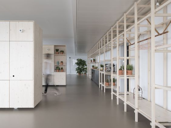"The buzzwords ""open, direct, dynamic, straightforward"", standing for the common attributes for the project in the center of Munich, describe a flexible, playful, and creative space for workshops, meetings and events upon two floors. Unlike traditional ..."