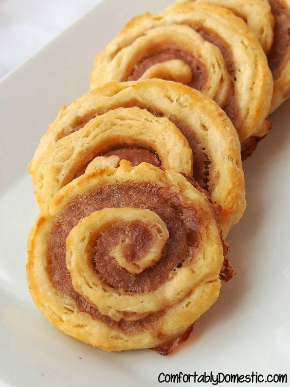 Sausage Biscuit Pinwheels. ☀CQ #southern #recipes