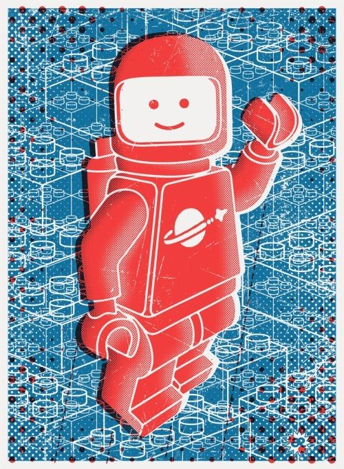 Hello Spaceboy Art Print by Andreas Ekberg