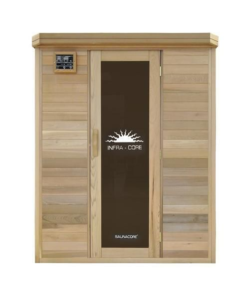 Flash Sale Saunacore Horizon Purity Series 3 Person Infrared Sauna Hr 4x5 Modern Bath Store Infrared Sauna Best Infrared Sauna Sauna