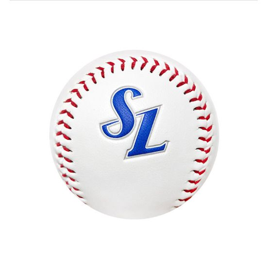 Korean Baseball League Kbo 2020 Team Samsung Lions Logo Hard White Ball Tracking Ebay In 2020 Baseball League Baseball League
