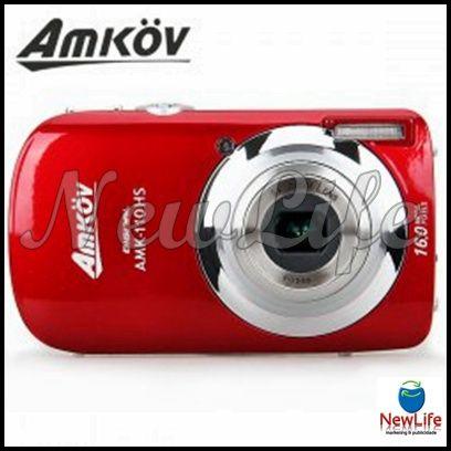Amkov CD110HS LCD de 3'' 16.0MP Macros shot Digital  64,20€
