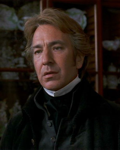 "1995 - Alan Rickman as Col. Christopher Brandon in ""Sense and Sensibility."":"