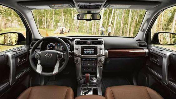 2017 Toyota Land Cruiser Interior