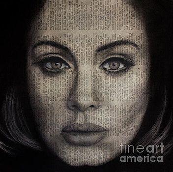 Art in the News 72-Adele 25 by Michael Cross