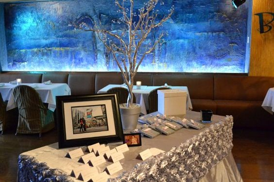 www.lepapillonevents.com, #Flowers #Decor #Planning #Toronto #Vaughan #wedding #rosette #receiving #table #linen #silver #tree