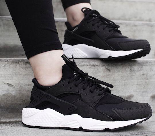 Nike Triple Black OG White 634835 Huarache Girls Air Women TlwXPkiOZu