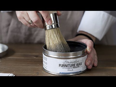 Como Dar Patinas De Colores Con Ceras Y Chalk Paint Youtube Cera Para Muebles Encerado De Muebles Pintar Con Ceras